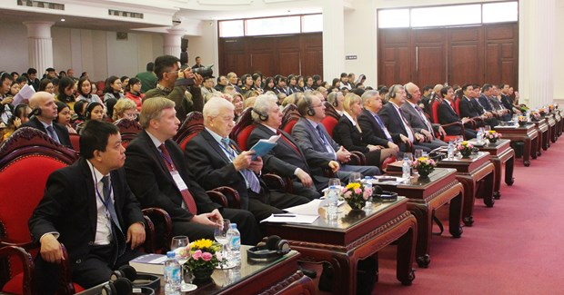 October Revolution lays foundation for Vietnam-Russia partnership hinh anh 1