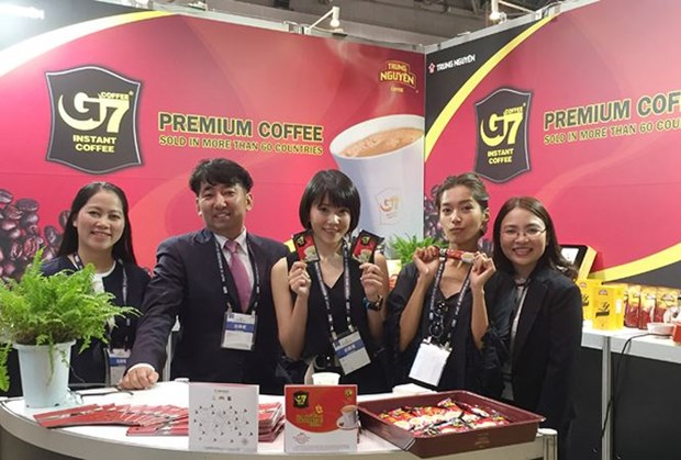 Trung Nguyen Coffee opens representative office in Shanghai hinh anh 1