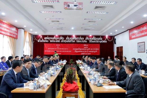 Hanoi, Vientiane strengthen multifaceted cooperation hinh anh 1