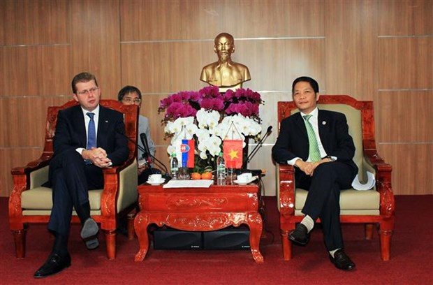 Vietnam, Slovakia promote trade, investment cooperation hinh anh 1