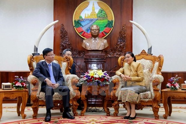 Lao top legislator lauds Vietnamese-Lao judicial cooperation hinh anh 1