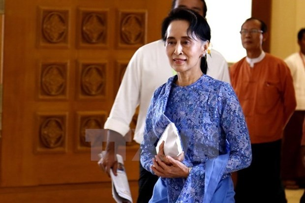 Myanmar State Counsellor Suu Kyi to visit China hinh anh 1