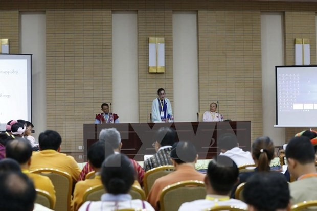 Myanmar to hold meeting of union peace conference in Jan 2018 hinh anh 1