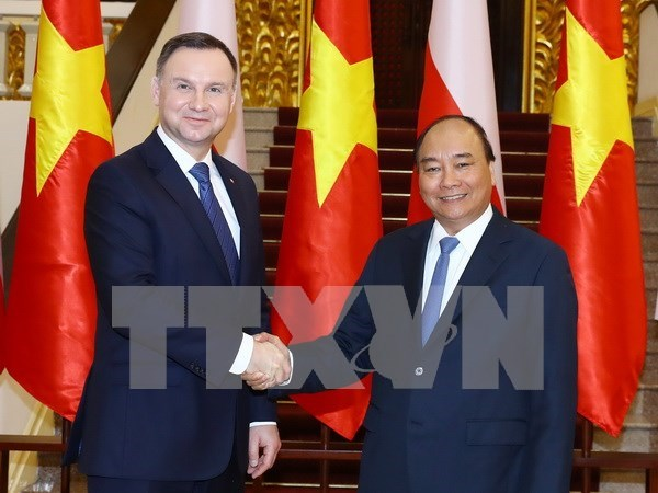 Polish President hails overseas Vietnamese role in bilateral cooperation hinh anh 1