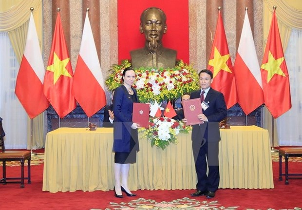 Vietnam News Agency resumes cooperation with Polish counterpart hinh anh 1