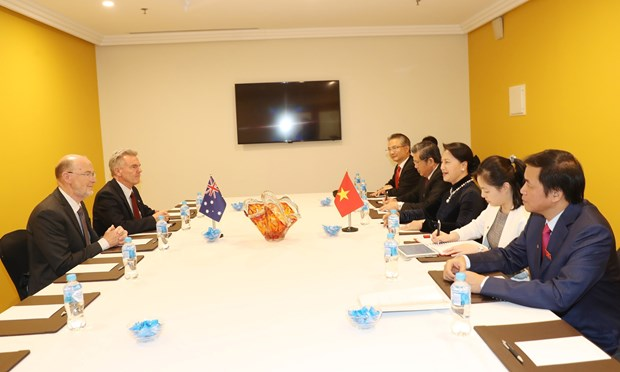 NA leader pledges to support VN, Australia friendship organisations' ties hinh anh 1