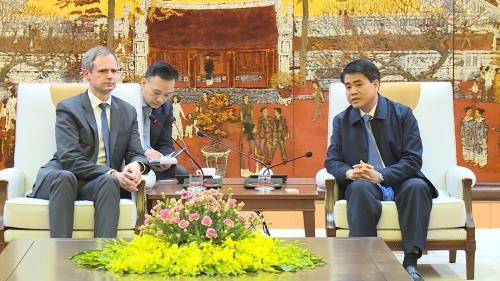 German firms eye investment in Hanoi hinh anh 1