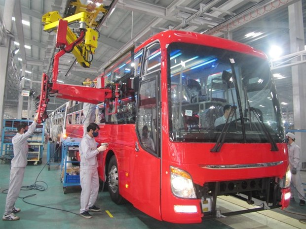 Bus plant ready for ASEAN zero tax hinh anh 1