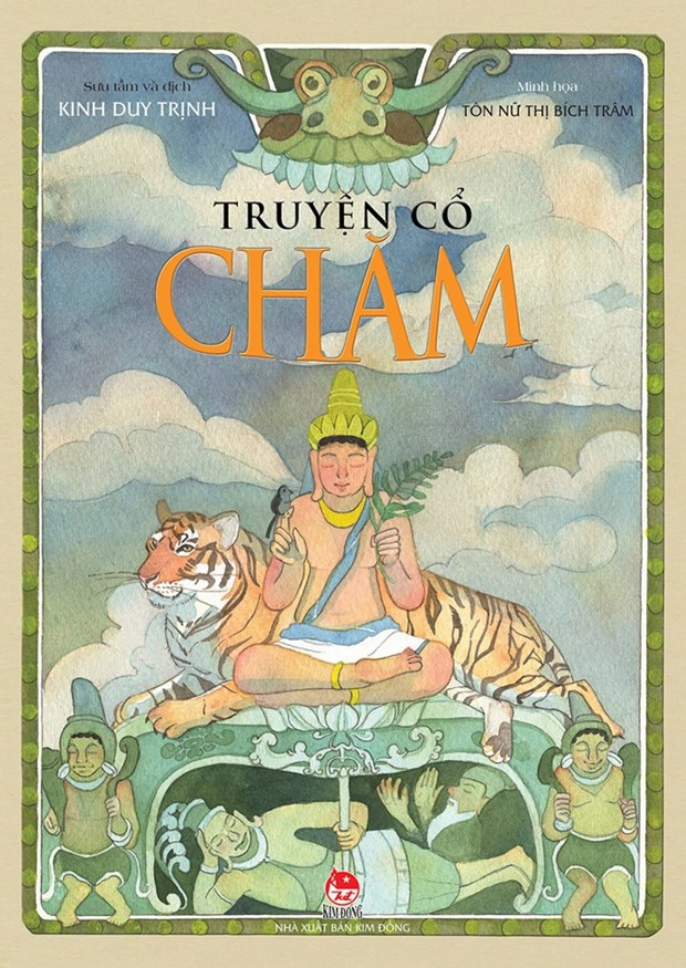 Book on Cham fairytales published hinh anh 1