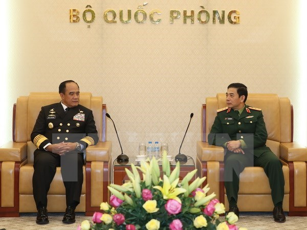 Vietnamese, Indonesian navies deepen cooperation hinh anh 1