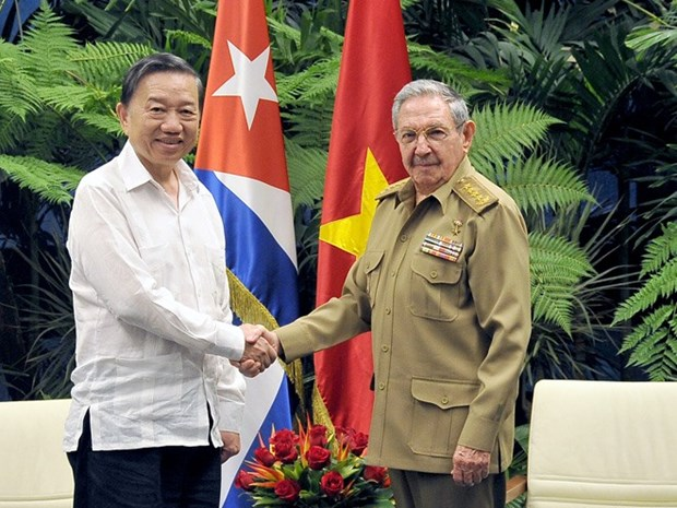Vietnam, Cuba steps up security cooperation hinh anh 1
