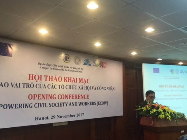 Project empowering civil society, workers launched hinh anh 1
