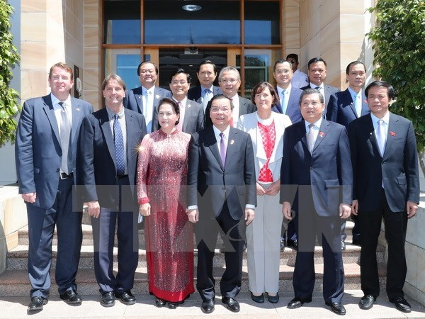 NA Chairwoman seeks stronger education, sci-tech ties with Australia hinh anh 1