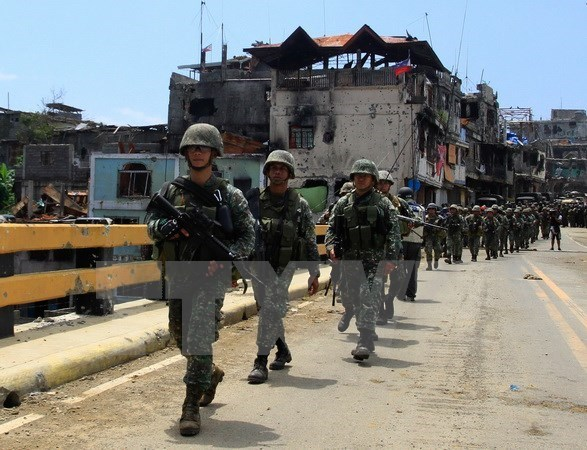 Philippines: 15 militants killed in clash hinh anh 1
