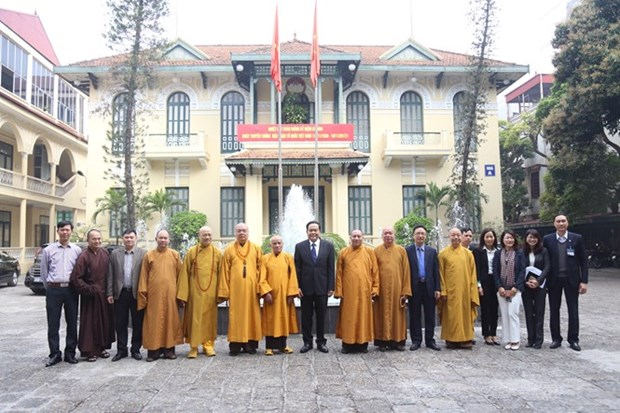 VFF President Tran Thanh Man lauds VBS's achievements hinh anh 1