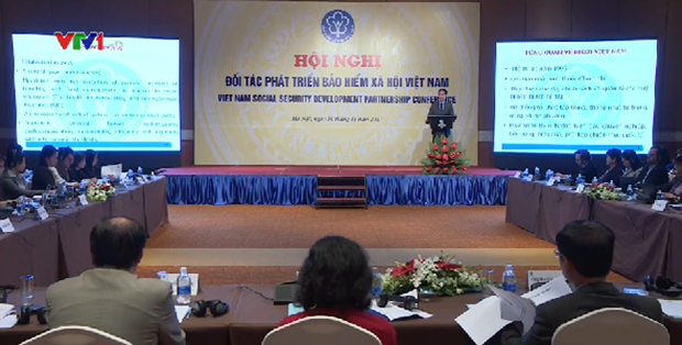 Social insurance sector holds first development partnership conference hinh anh 1