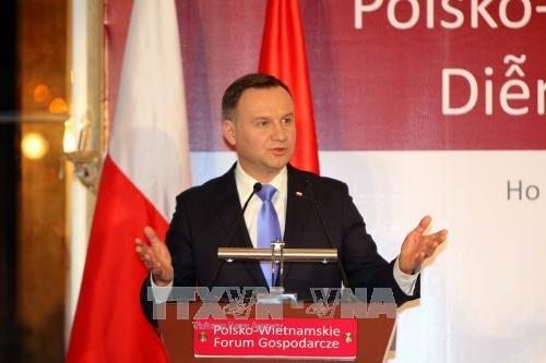 Vietnam – Poland economic forum opens in HCM City hinh anh 1