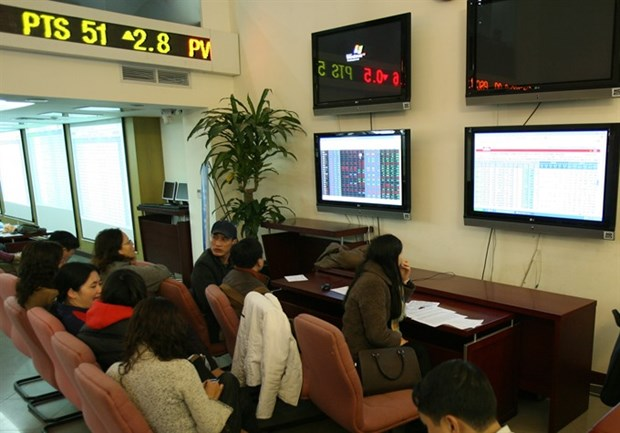 VN-Index up for eighth day in a row hinh anh 1