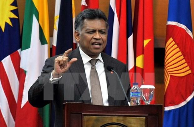 Condolences over death of former ASEAN chief hinh anh 1