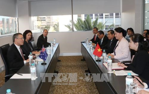 NA Chairwoman invites Australian investment in mining, shipbuilding hinh anh 1