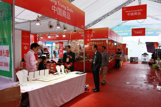 Vietnam-China int'l tourism fair opens in Mong Cai city hinh anh 1