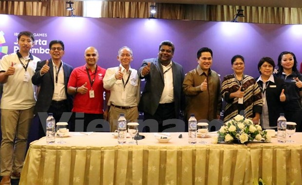 Indonesia speeds up preparations for Asian Games hinh anh 1