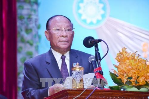 Cambodia marks 39th anniversary of solidarity front hinh anh 1