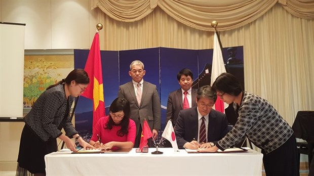 Eight local development projects get Japan aid hinh anh 1