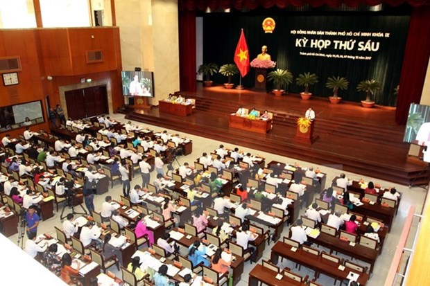 Ho Chi Minh City People's Council convenes sixth session hinh anh 1