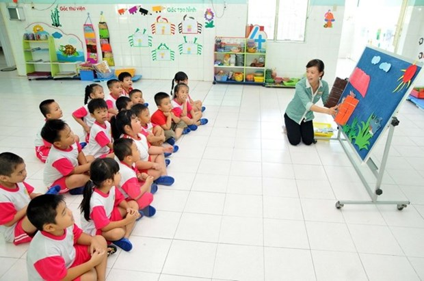 Japanese Kids Corporation interested in Vietnam's kindergarten market hinh anh 1