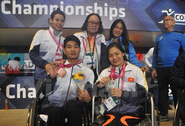 Vietnam bags two more medals at World Para Swimming Championships hinh anh 1