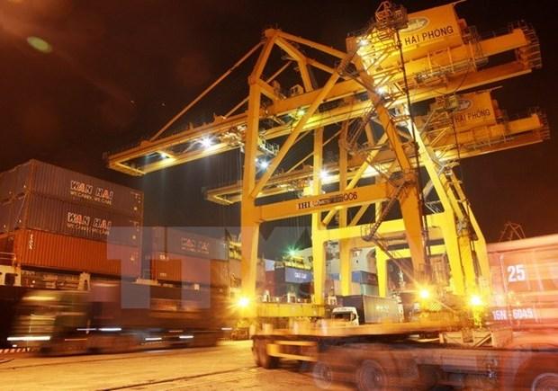 Vinalines partners with Belgian enterprise to build grain port in Hai Phong hinh anh 1