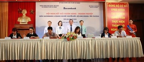 Sacombank offers 132 million USD in loans to household businesses hinh anh 1