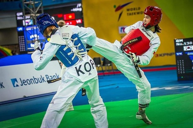 Tuyen wins bronze at Grand Prix taekwondo tourney hinh anh 1