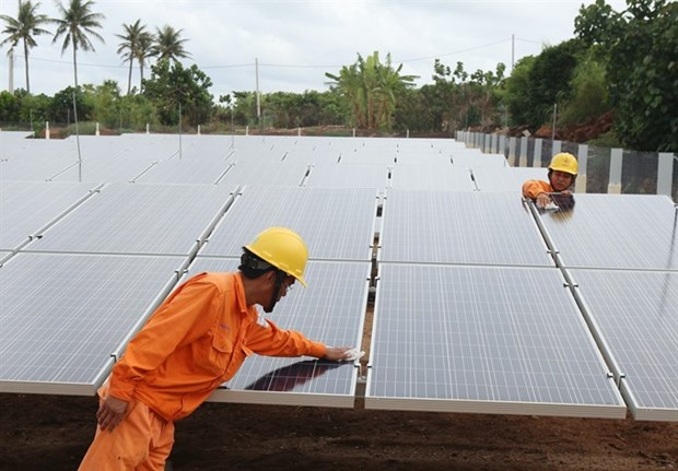 Can Tho city puts focus on solar power hinh anh 1