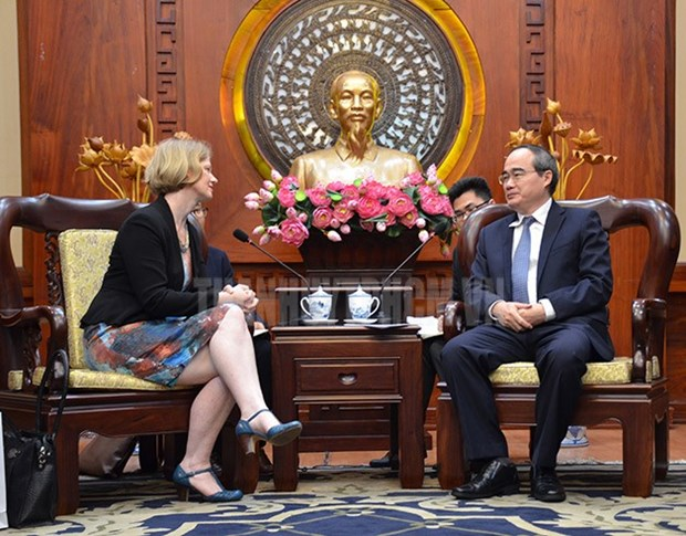Ho Chi Minh City leader wishes to boost trade with New Zealand hinh anh 1