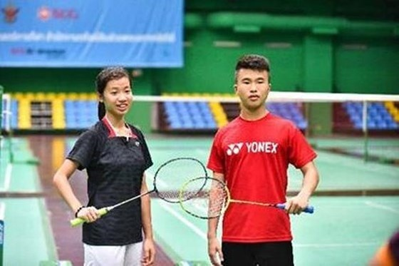 Silver for Vietnam at Singapore badminton hinh anh 1