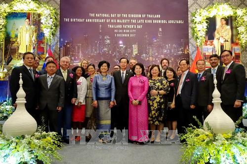 Thai late King Bhumibol's birthday marked in HCM City hinh anh 1