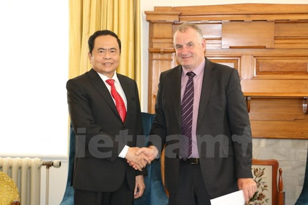 VFF chief meets New Zealand leaders hinh anh 1