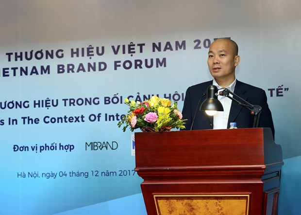 Vietnamese firms urged to step up brand development hinh anh 1