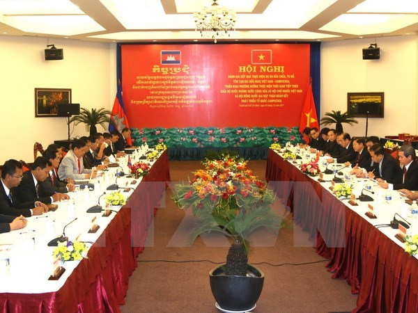 Vietnam, Cambodia fast-track upgrade of friendship monuments hinh anh 1
