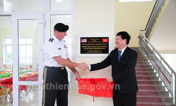 US Pacific Command finances kindergarten in Thua Thien-Hue hinh anh 1