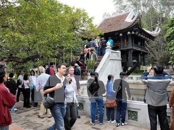 Hanoi to welcome nearly 24 million visitors this year hinh anh 1