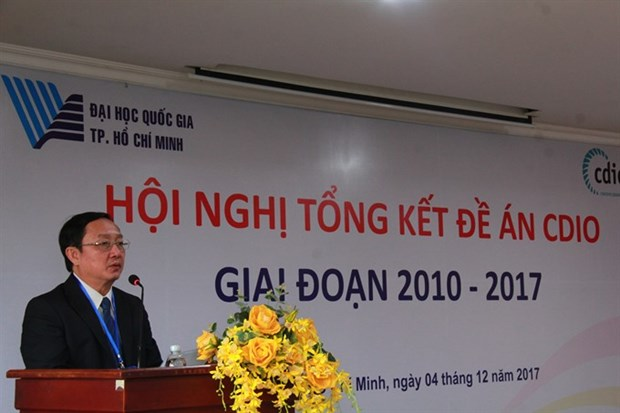 Vietnam National University continues to adopt CDIO hinh anh 1