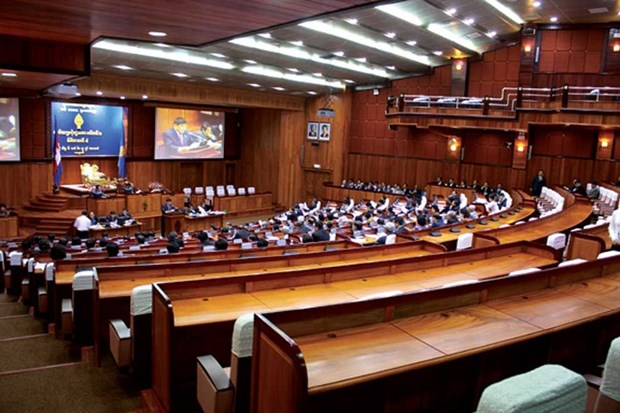 Cambodia parliament recognises new lawmakers hinh anh 1