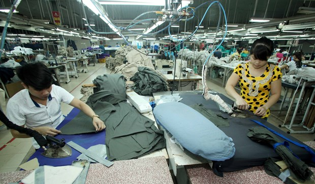 Chinese firm completes garment-textile production chain in Vietnam hinh anh 1