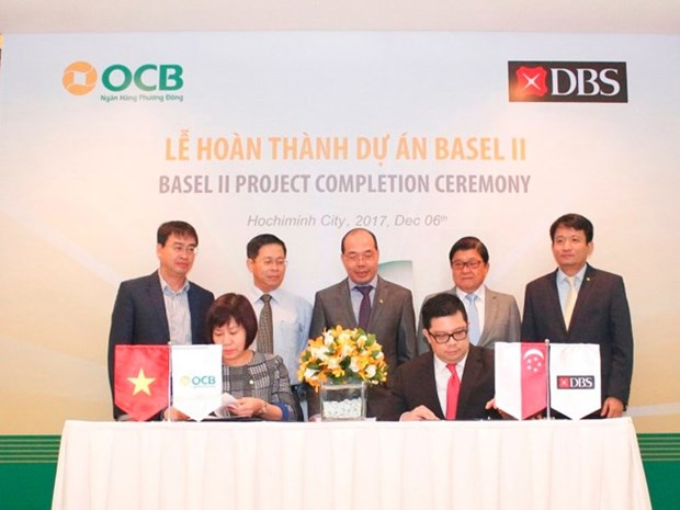 First Vietnamese bank completes Basel II project hinh anh 1
