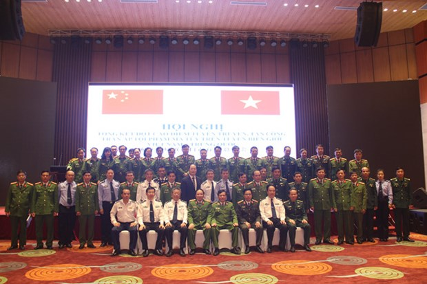 Vietnam, China review border drug crime crackdown campaign hinh anh 1