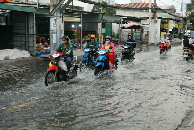 Ho Chi Minh City faces severe floods hinh anh 1