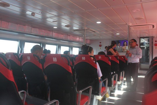 Hydrofoil services to Can Gio slated to start hinh anh 1